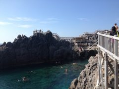 神津島一押し遊泳スポット「赤崎遊歩道」が絶景だった