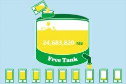 格安SIM 5GBプランならmineo一択!3GBの料金で5GBが毎月使えるフリータンク制度の使い方