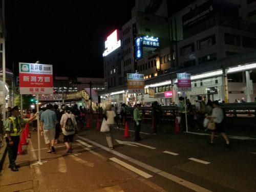 長岡花火駅前渋滞