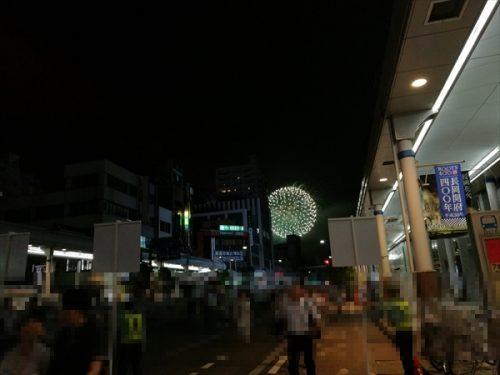 長岡駅前花火