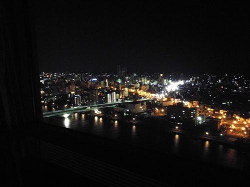 ホテル日航新潟夜景