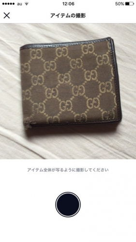 CASHグッチ財布