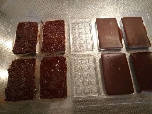 チョコレートテンパリング比較