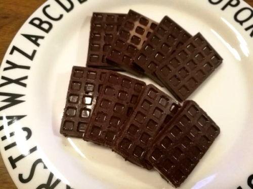 カカオ豆チョコレート味