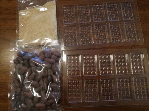 カカオ豆チョコレート