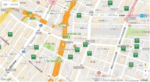 SUUMO地図から探す