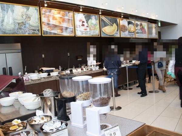 札幌プリンスホテル朝食ビュッフェ
