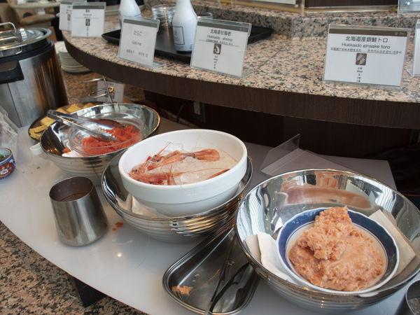 札幌プリンスホテル朝食海鮮