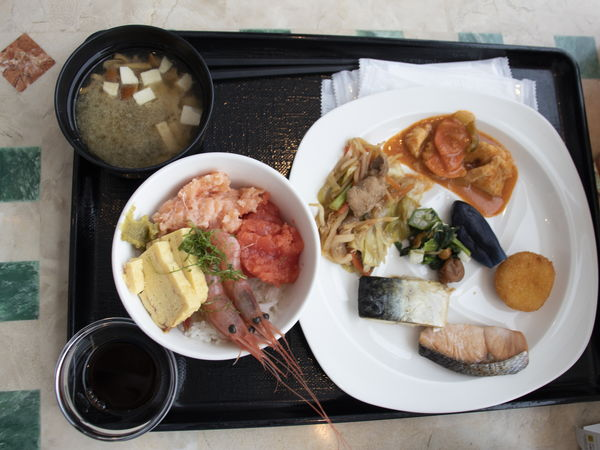 札幌プリンスホテルタワー朝食