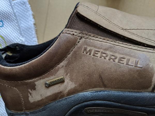 スエード靴染める