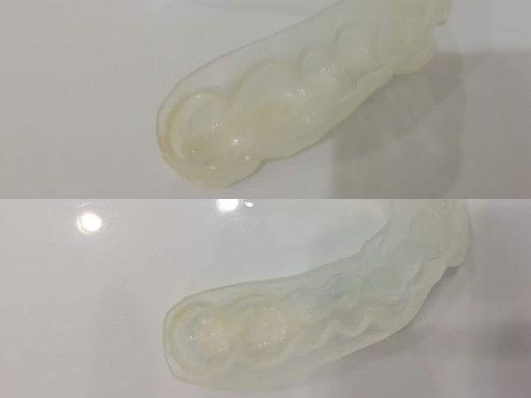 マウスピース洗浄剤匂い